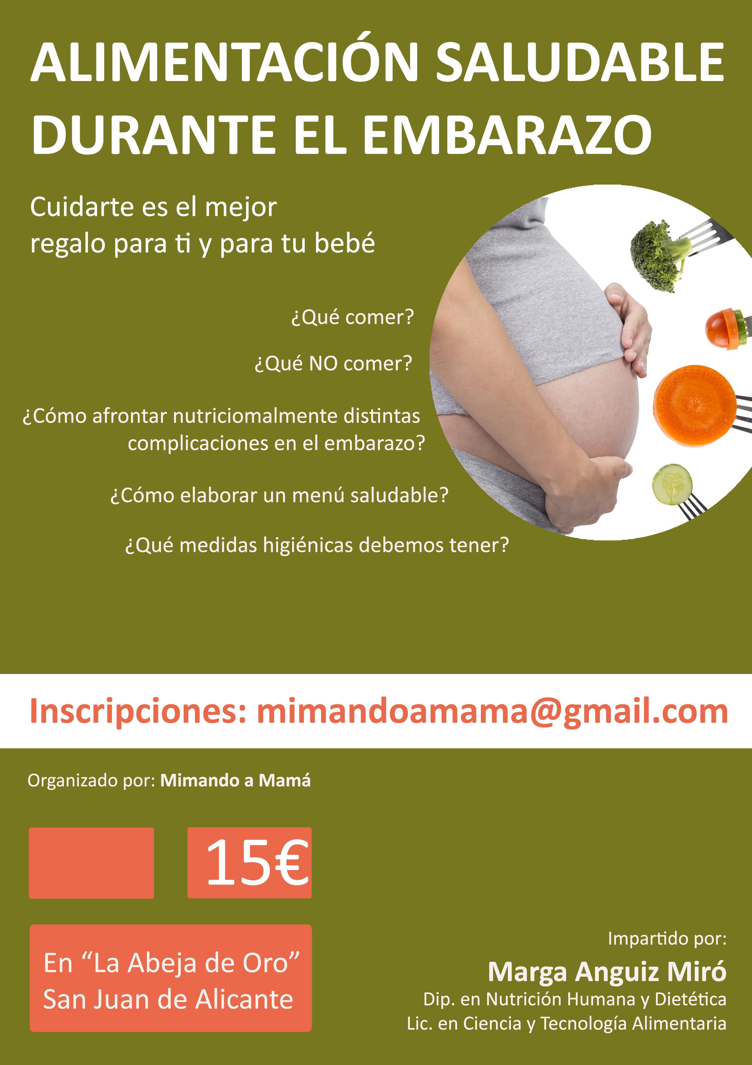 Alimentación Saludable en el Embarazo.