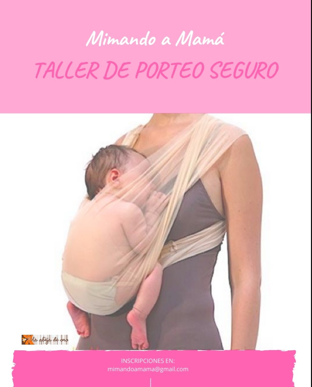 Taller de PORTEO ergonómico y seguro.