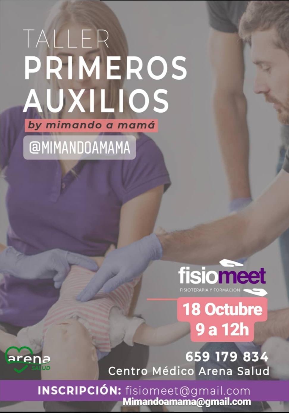 TALLER DE PRIMEROS AUXILIOS PEDIÁTRICOS
